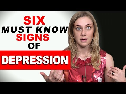 six Have to KNOW Signs of Depression!