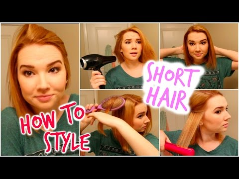 How I Style My Quick Hair!