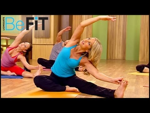 Hot Body Yoga Work out | Yoga Fit- Denise Austin