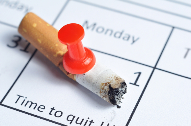 Give up Using tobacco