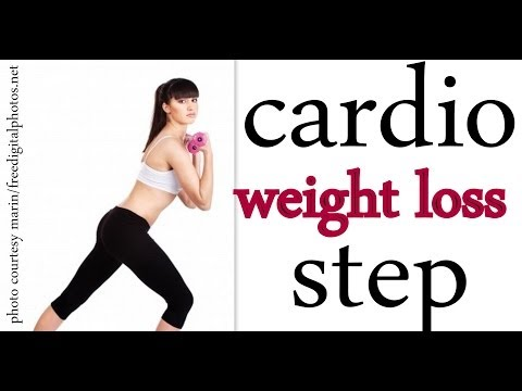 Cardio Bodyweight Loss Bootcamp Stage/ Aerobics Home Training