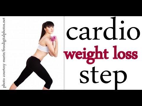 Cardio Bodyweight Loss Bootcamp Stage/ Aerobics Home Training