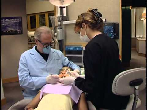 Chair Facet Dental Assisting Instruction Video clip for Dental Employees