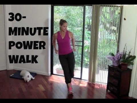 Indoor Walking Workout – Entire Size thirty-Moment Electrical power Stroll (unwanted fat burning, going for walks exercise)