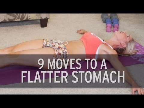 nine Exercise routines For A Flat Tummy